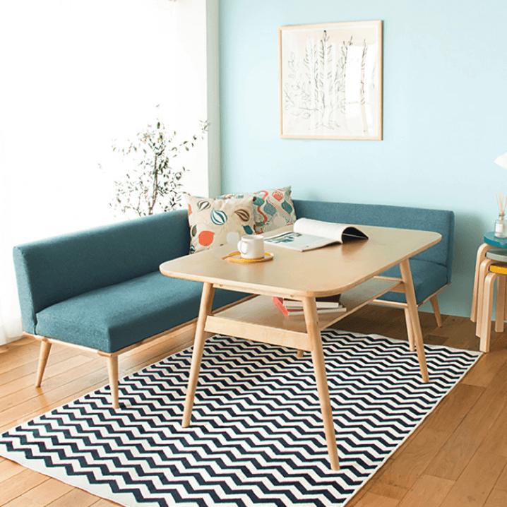 10畳 壁付けキッチンのldk 収納と間仕切りを考えた家具のレイアウト