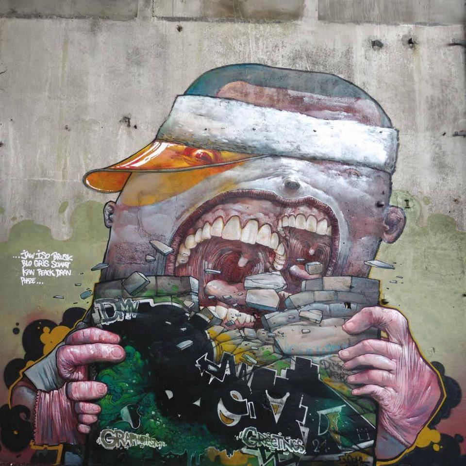 Pin By Augusto Cordeiro On Muros Arteurbano Graffiti Urban Art Graffiti Art Mural Art