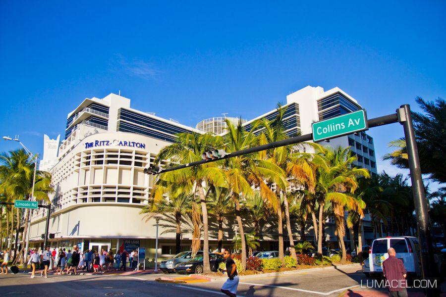 Miami south beach, collins avenue, lincoln road, sobe, miami, florida