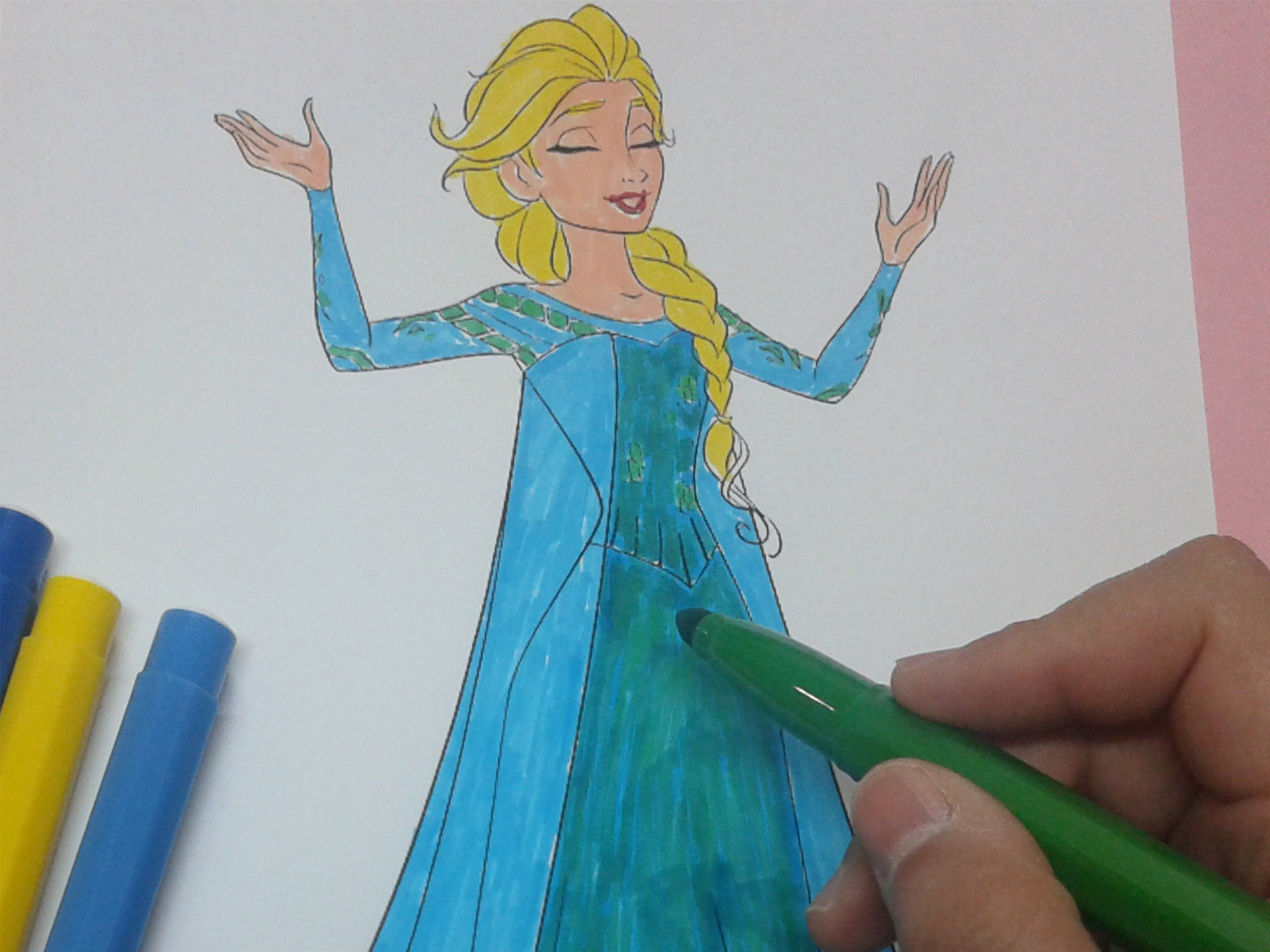 How To Color Frozen Coloring Pages For Girls Frozen Colouring Pages