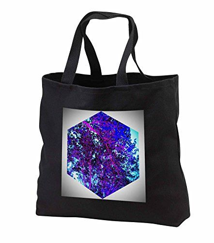 "DYLAN SEIBOLD - PHOTO ABSTRACTION - BLUE TREE CUBE - Tote Bags Be the first to review this item   Price:	$28.74 Sale:	$26.44 + $5.71 shipping You Save:	$2.30 (8%) Size:   In Stock. Get it as fast as Oct. 11 - 14. Ships from and sold by 3dRose LLC. 100% cotton twill Dual cotton web handles (19.5"") Custom image affixed to durable, heavy-duty cotton twill material Jumbo tote available in black only Standard tote available in black or denim"