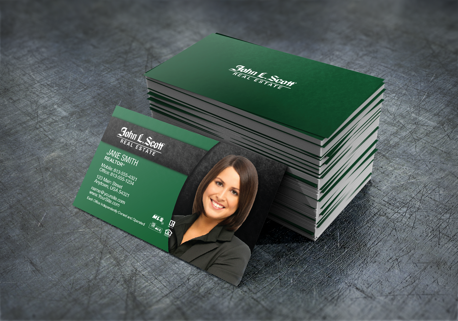 Beautiful New John L Scott Business Cards Are Now Available Realtor Johnlscott Realesta Business Cards Business Cards Online Real Estate Business Cards
