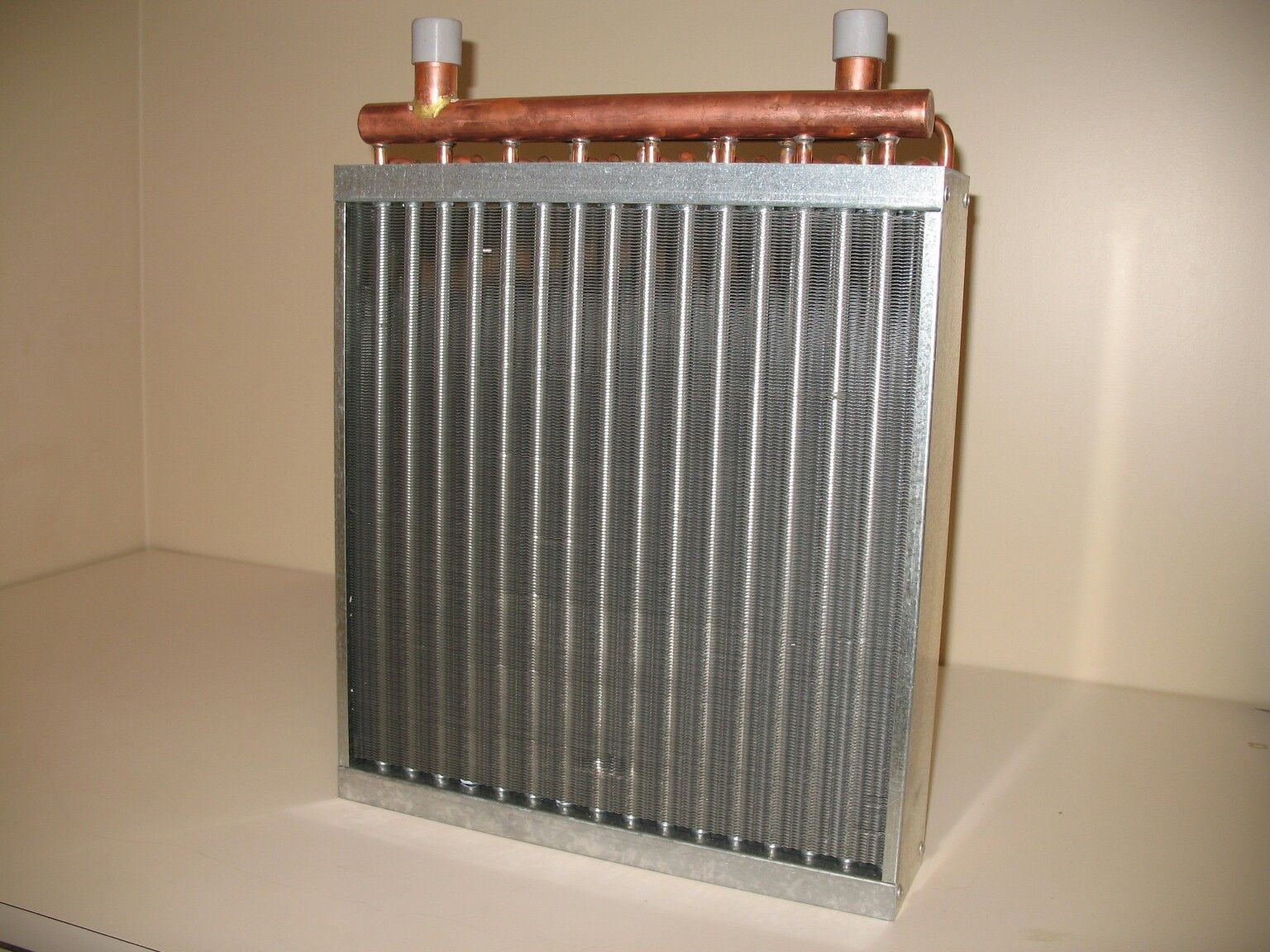 water to air heat exchangers for installing outdoor wood boilers