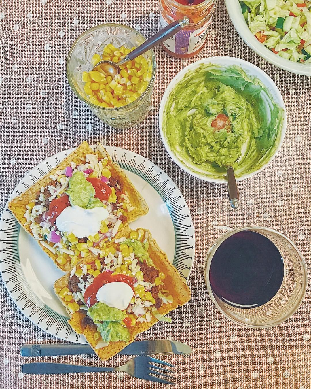 vegetarisk tacos sojafärs
