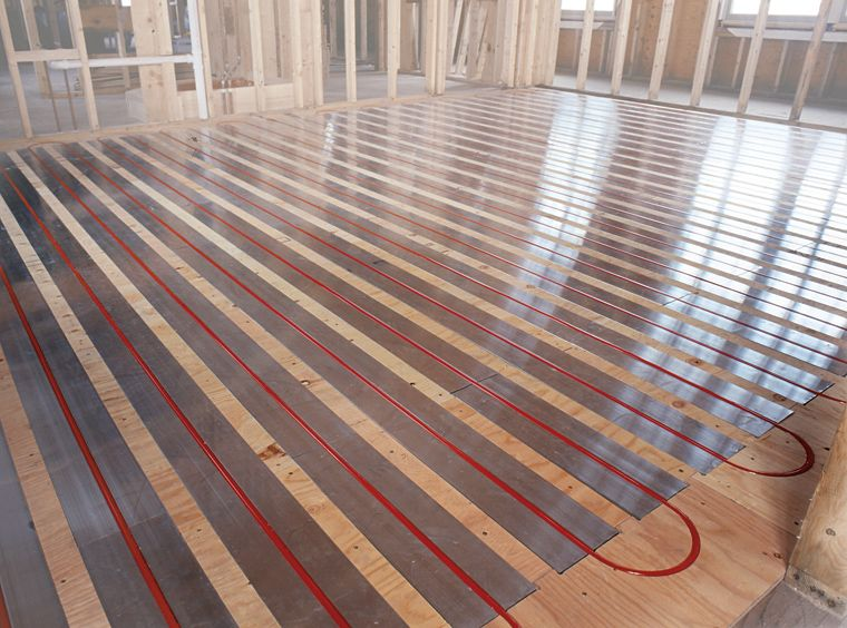 Heated Floors When We Re Floor Our Downstairs I Want To Install These Has Anyone Had An Radiant Floor Hydronic Radiant Floor Heating Radiant Floor Heating