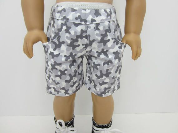 18 inch, 18 boy doll clothes - Grey camo print 4 pocket shorts #boydollsincamo 18 inch ,18  boy doll clothes -Grey camo print 4 pocket shorts by JazzyDollDuds. #boydollsincamo 18 inch, 18 boy doll clothes - Grey camo print 4 pocket shorts #boydollsincamo 18 inch ,18  boy doll clothes -Grey camo print 4 pocket shorts by JazzyDollDuds. #boydollsincamo 18 inch, 18 boy doll clothes - Grey camo print 4 pocket shorts #boydollsincamo 18 inch ,18  boy doll clothes -Grey camo print 4 pocket shorts by Jaz #boydollsincamo