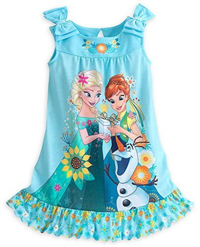 Disney Store Frozen Fever Anna, Elsa | Nightgowns | Pinterest