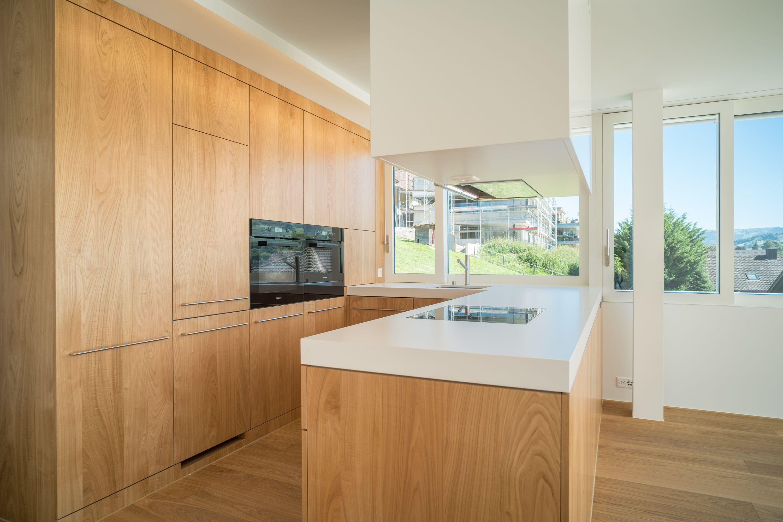 Küche mit Fronten in Kastanie | Küchen in 2018 | Pinterest ...