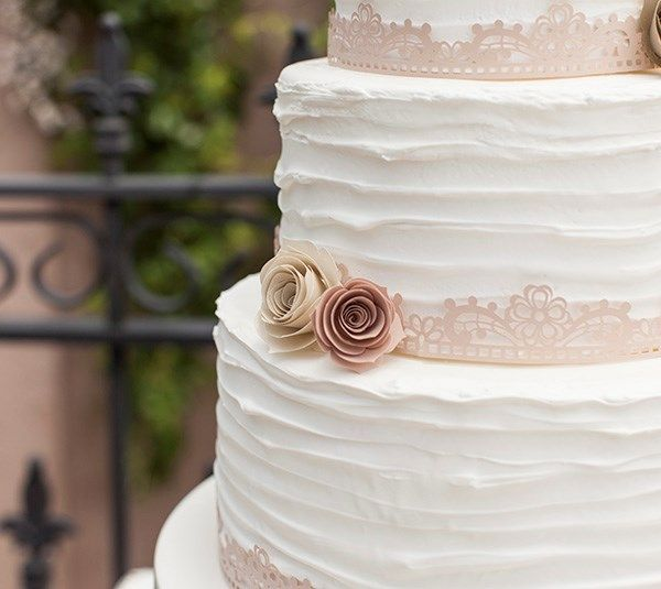 Put the finishing touch on your wedding cake with this project!