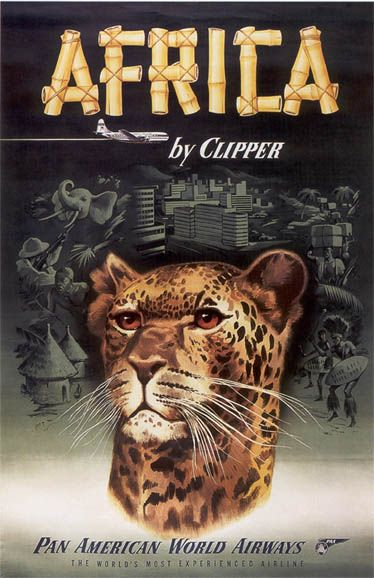 TX225 Vintage Uganda Railway British East Africa Travel Poster Re-Print A4