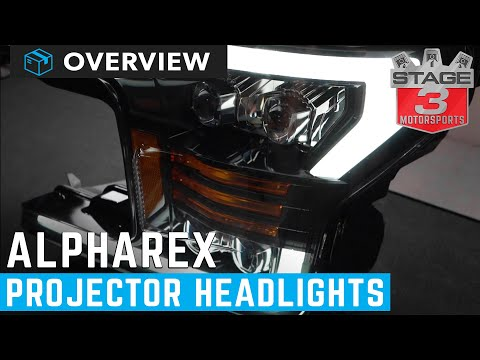 AlphaRex Projector Headlights Overview YouTube in 2020