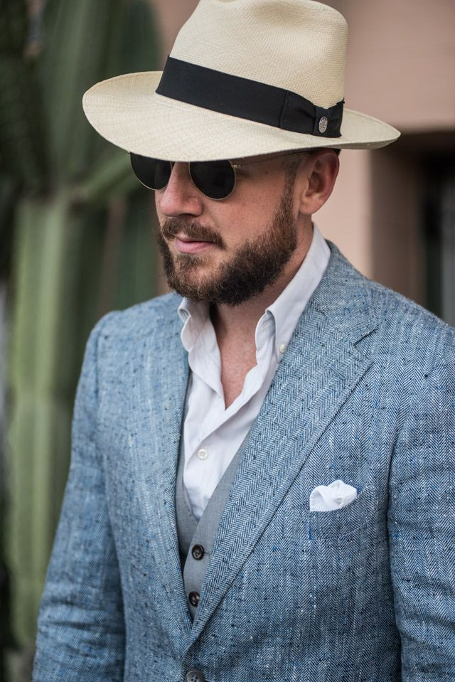 f88693f9b Linen/Silk Jacket plus a Panama Hat. | What I Like / Mis Gustos in ...