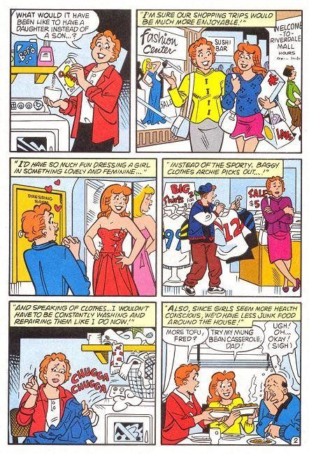 Archie Transgendered Issue Archie Comics Archie Comics