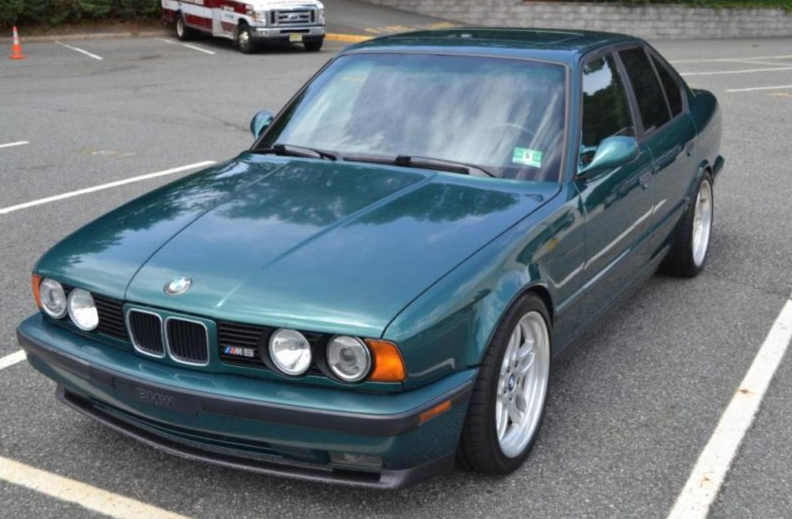Bmw E34 Green Bmw E34 Bmw Bmw M5