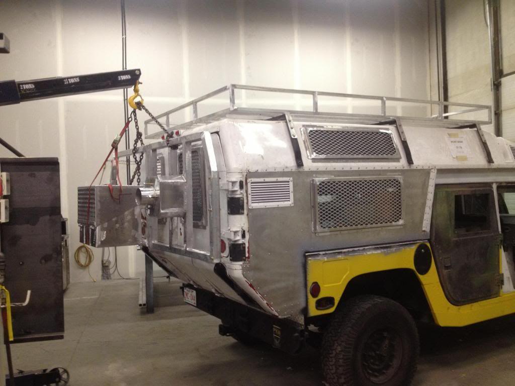 Hummer H1 W Modified M996 Ambulance Body Hummer H1