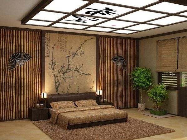 d coration cannes de bambou conseils d co en bambou chambre deco japon et plus pinterest. Black Bedroom Furniture Sets. Home Design Ideas