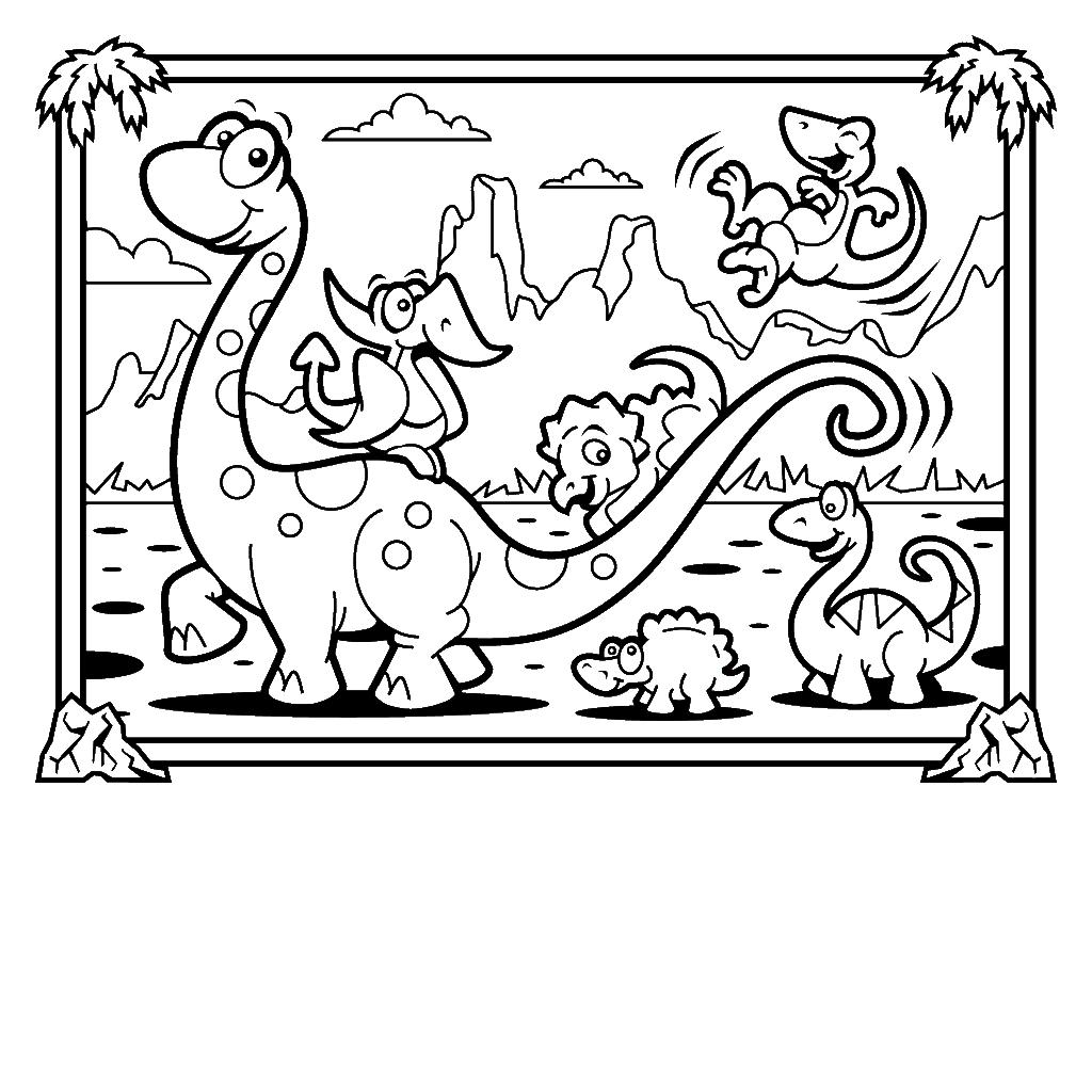 Pin von fidelisrestu _ auf Coloring | Pinterest | Dinosaurier