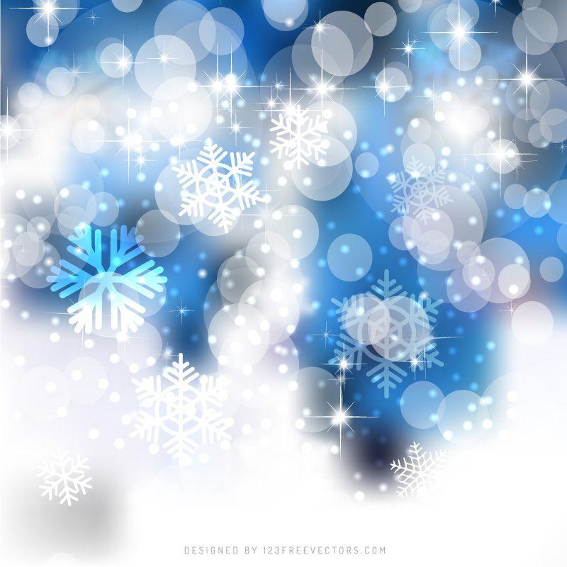 Blue White Christmas Bokeh Lights Background Design White Christmas Image Christmas Background White Christmas Ornaments Blue christmas background design hd