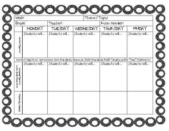 Editable esl lesson plan templates esl lesson plans esl lessons esl lesson plan template pronofoot35fo Images