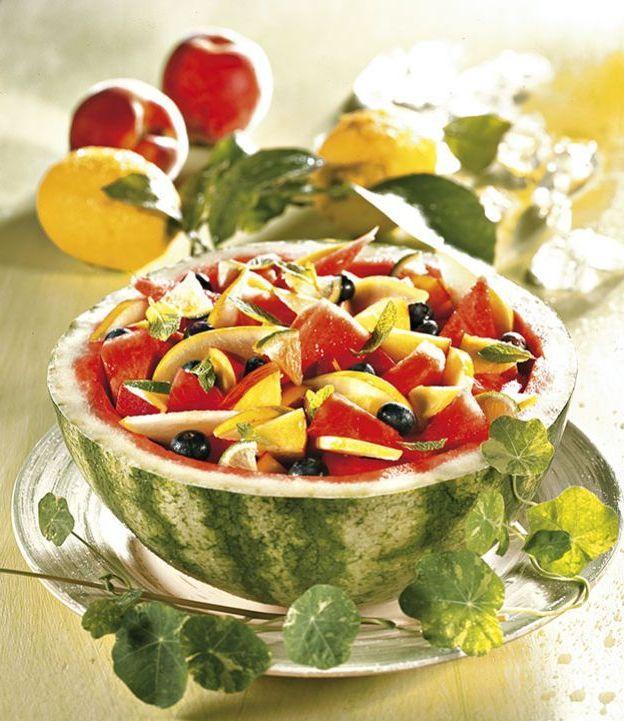 insalata dolce di frutta alla limetta e menta. ricetta di carla ... - Rivista Cucina Naturale