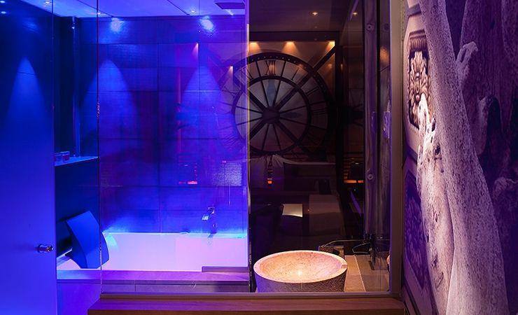 Hotel Secret de Paris Hôtel et chambre avec jacuzzi privatif