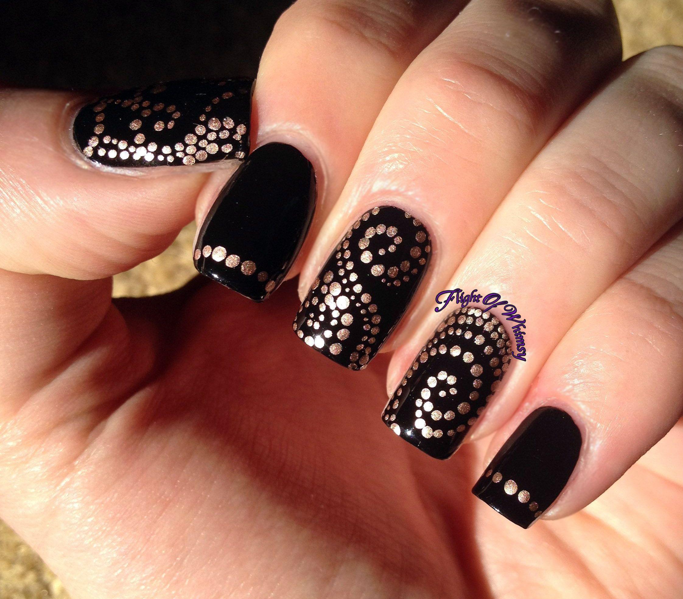 Black Gel Nails 1 HD Images | Nails | Pinterest | Black gel nails