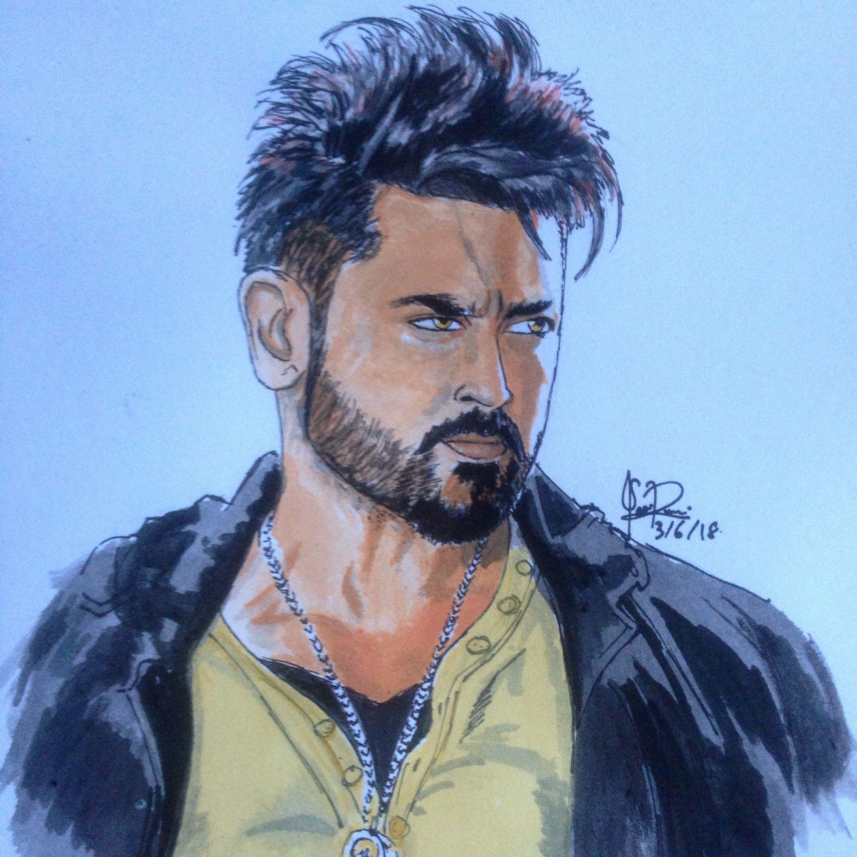 Pin By Sasi Sugumaran On Tamil Actors Sketches Male Sketch
