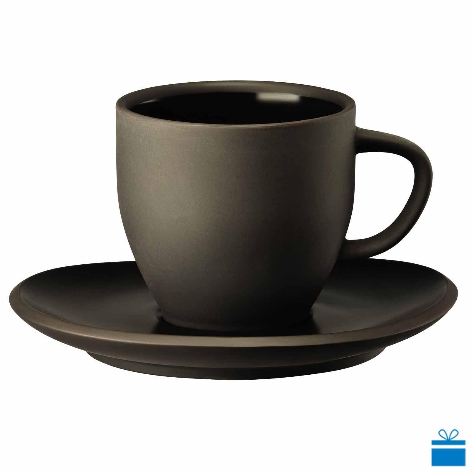 Steinzeug Steingut rosenthal neuheit serie junto slategrey tassenset kaffeetasse