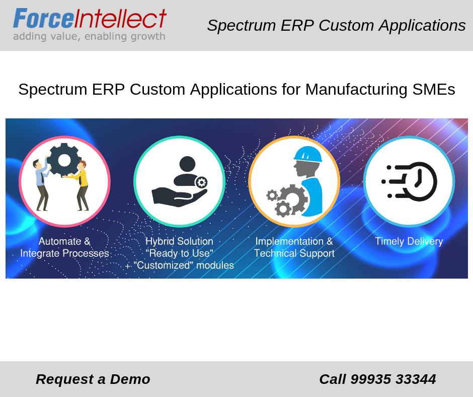 Spectrum ERP Custom Applications Spectrum, Business