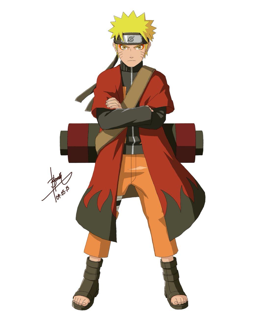 Naruto Uzamaki Colour Naruto Sage Naruto Uzumaki Naruto Shippuden Anime