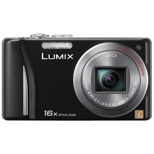 Great price, Panasonic 14.1MP 16X Optical Zoom Digital Camera - Black