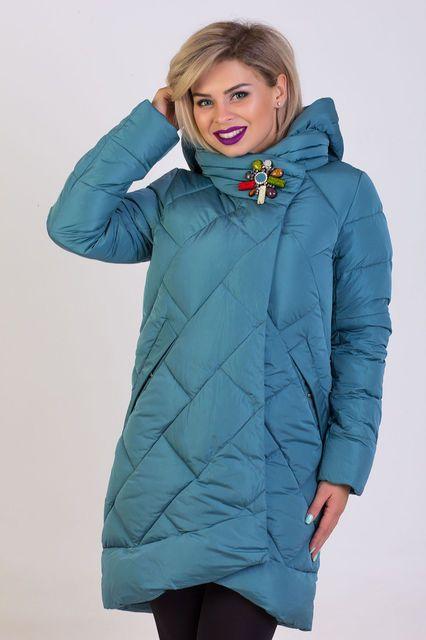 7b82fb63ebb Куртка пуховик женский Kapre №505