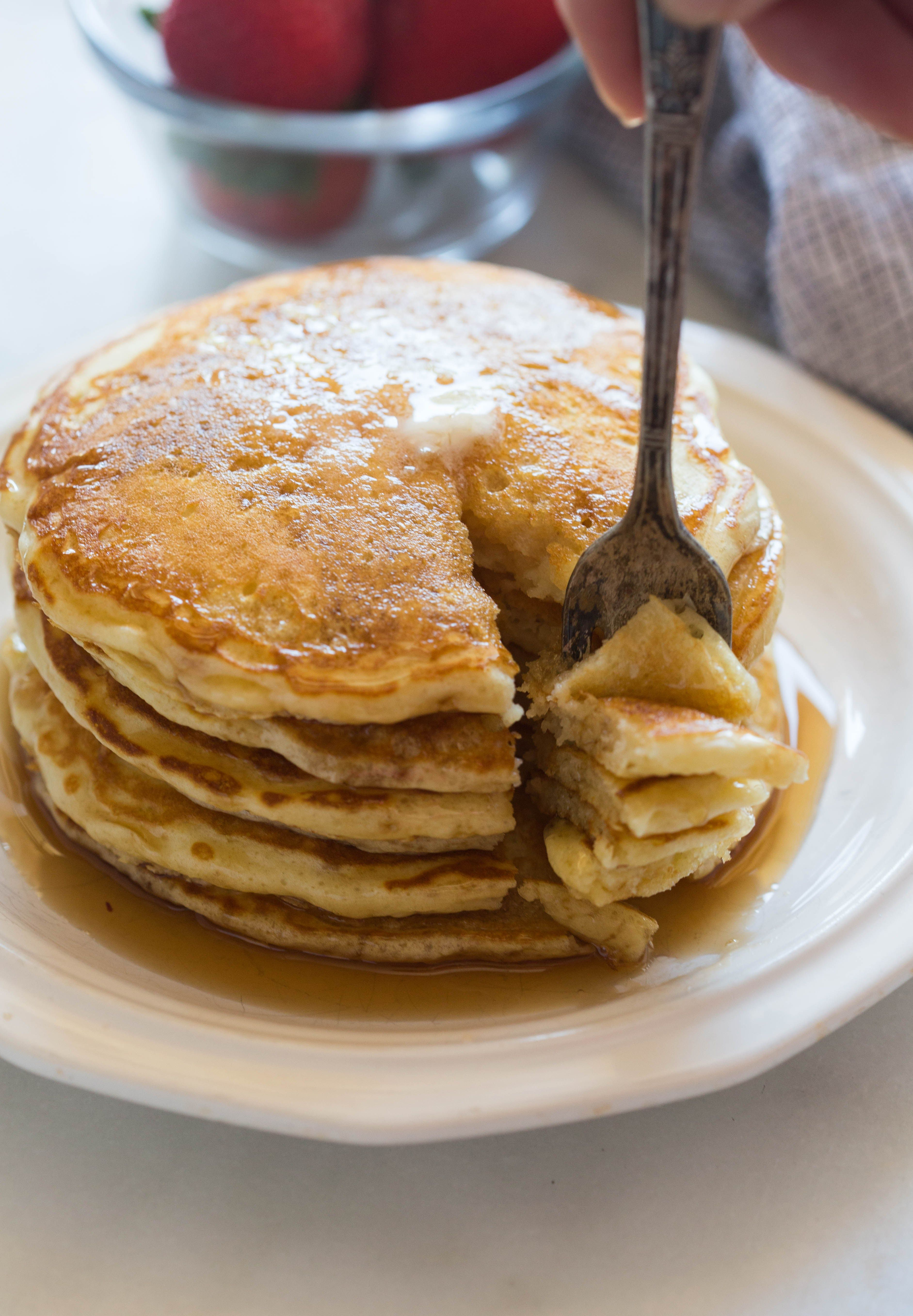 Buttermilk Pancakes Recipe Buttermilk Pancakes Pancake Recipe Pancake Recipe Taste