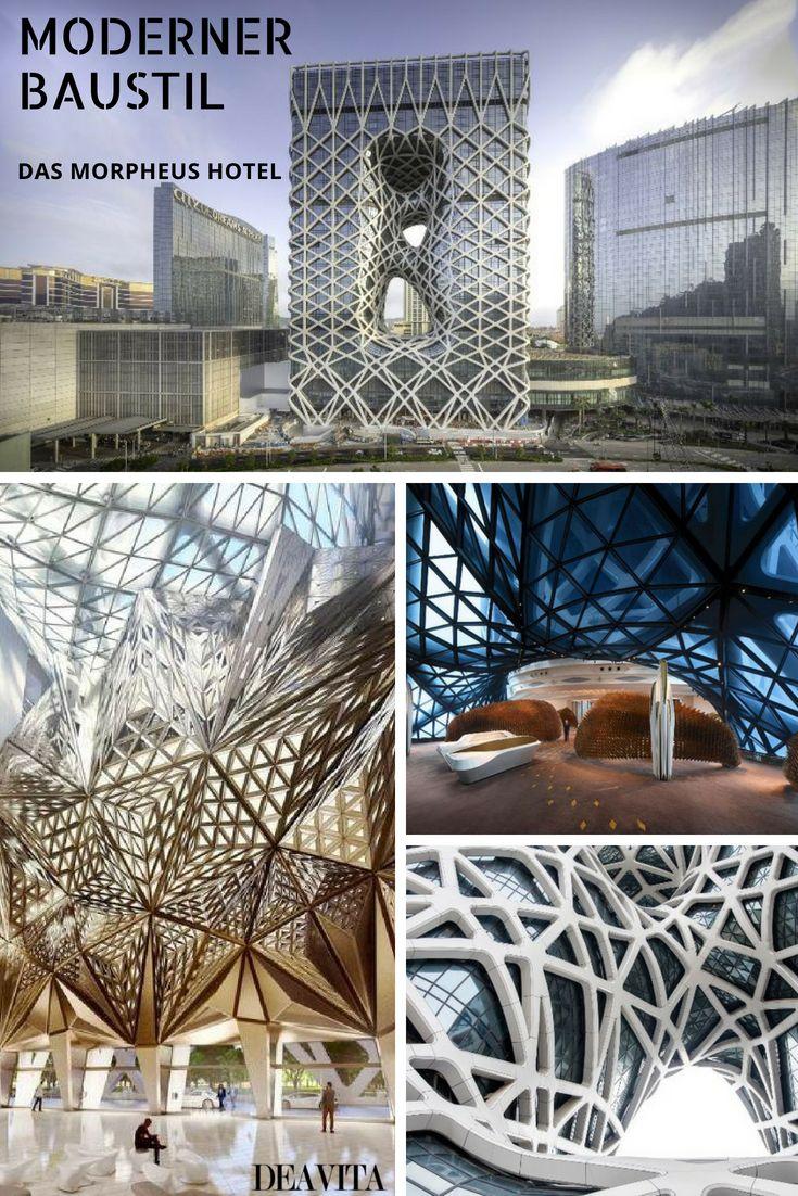 Das innovativ gebaute Morpheus Hotel in Macau ist ein Meisterwerk ...