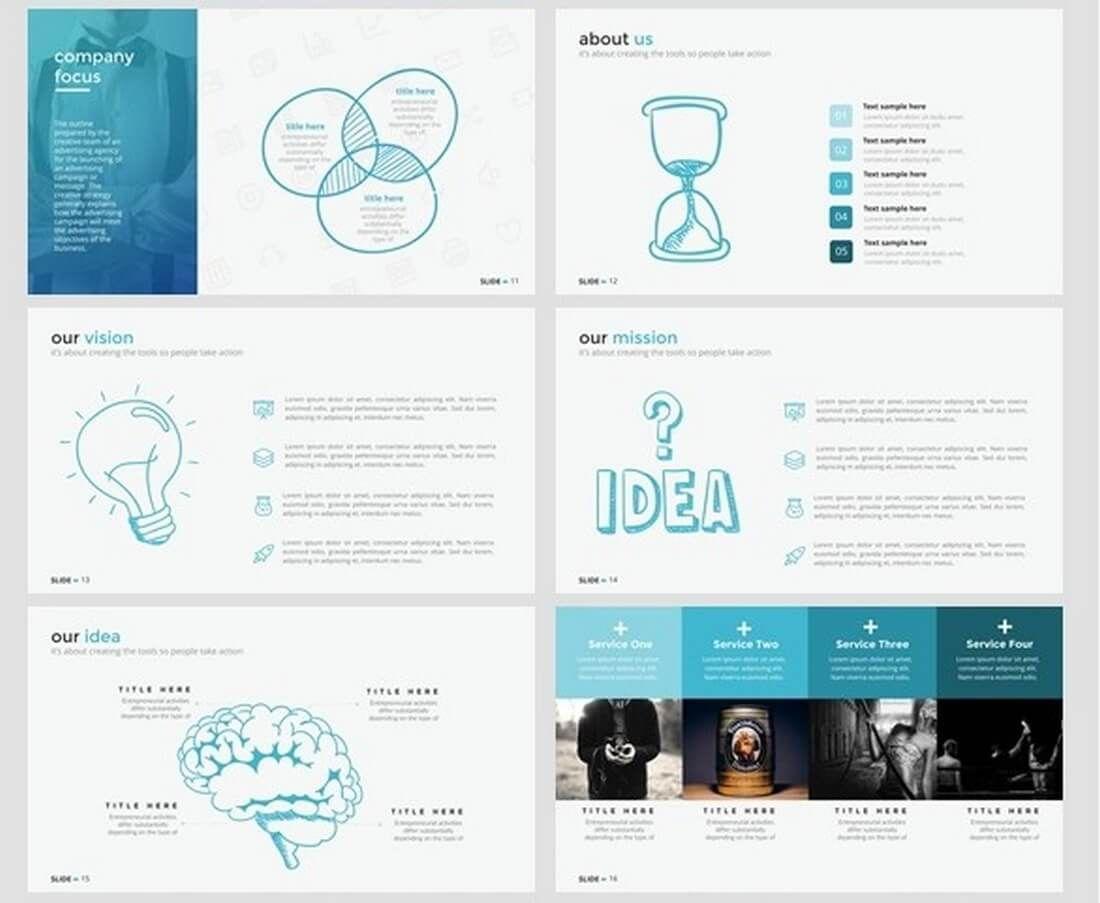 Keynote Business Slide Templates  Design Shack  Template