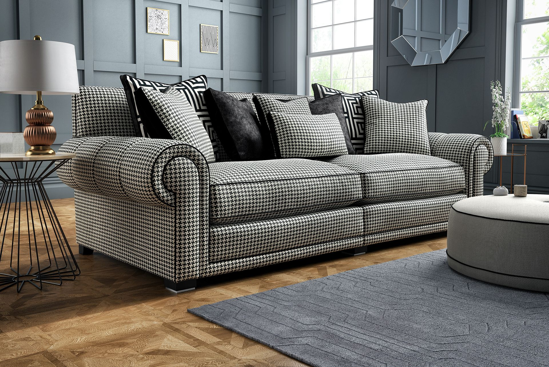 You Can Keep Your Room More Muted If A Bright Colour Scheme Isn T To Your Tastes Just Ensure That The Furniture Is Minimalist Kee Stylish Sofa Furniture Sofa