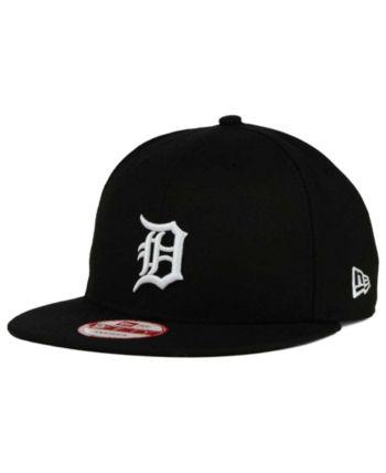 1d4e91ccb3389f New Era Detroit Tigers B-Dub 9FIFTY Snapback Cap - Black/White/Black  Adjustable
