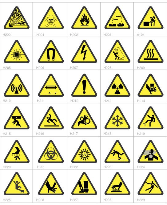 Safety Symbols Symbols Pinterest Safety Health And Safety And