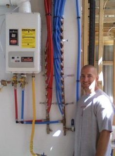 Tankless water heater with pex piping system for our for Pex hot water heating system