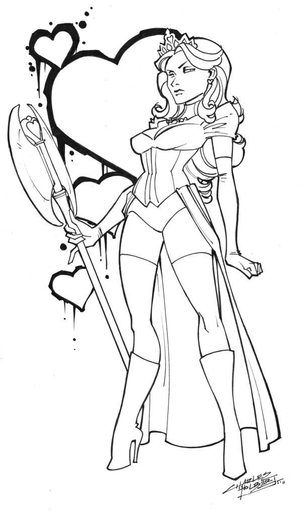 Queen of Hearts by KidNotorious on deviantART   Cartoon ...