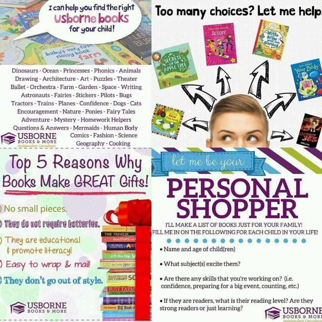 Don T Know Where To Start As A Consultant I Cater My Book Recommendations Based On The Interests And Needs Of T In 2020 Usborne Books Usborne Usborne Books Consultant