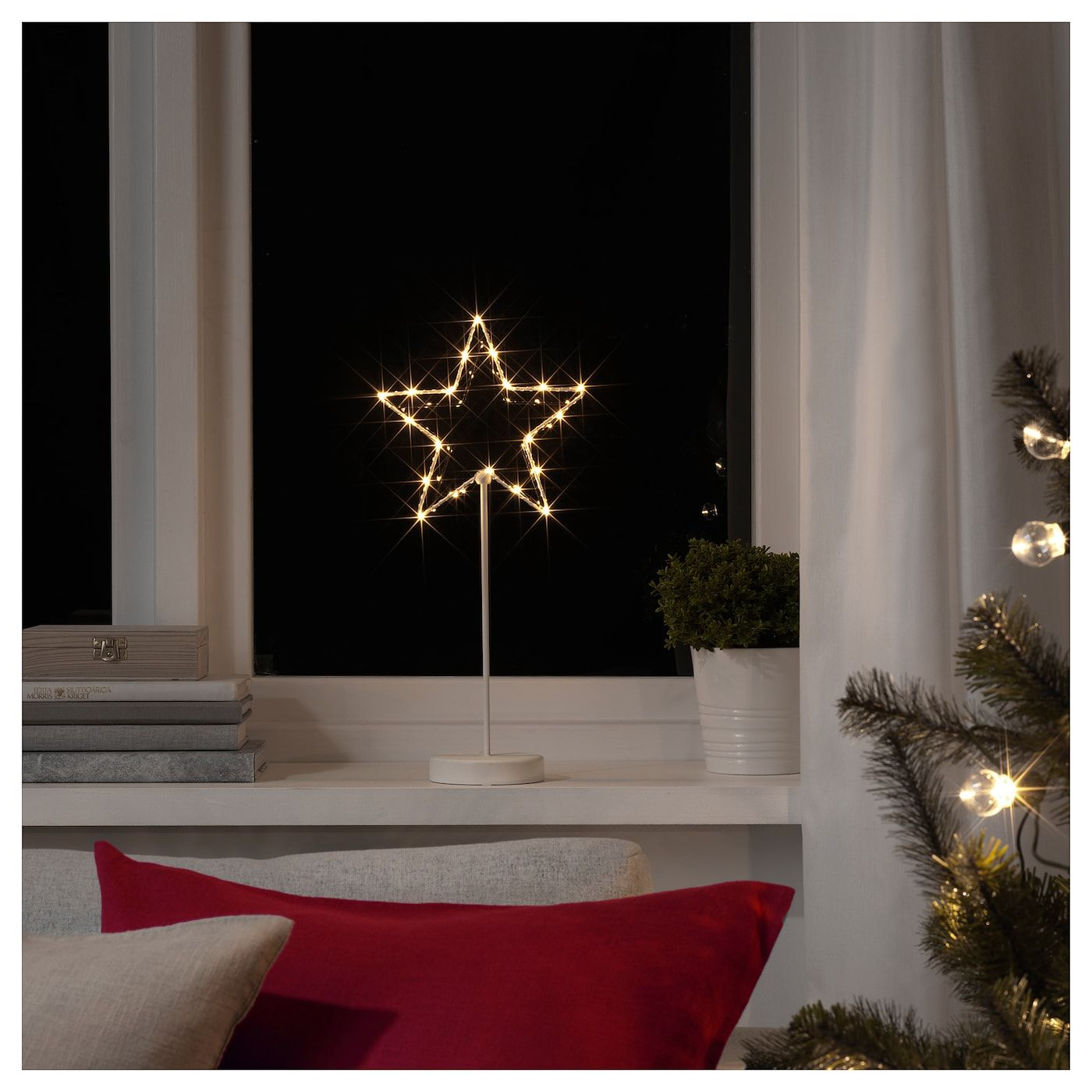 IKEA STRALA Battery Operated, Star LED table decoration