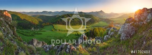 http://www.dollarphotoclub.com/stock-photo/Spring and summer in Slovakia mountain - panoramic view with sun/41702483 Dollar Photo Club millions of stock images for $1 each