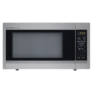 Sharp 1.8 Cu Ft Stainless Steel Microwave