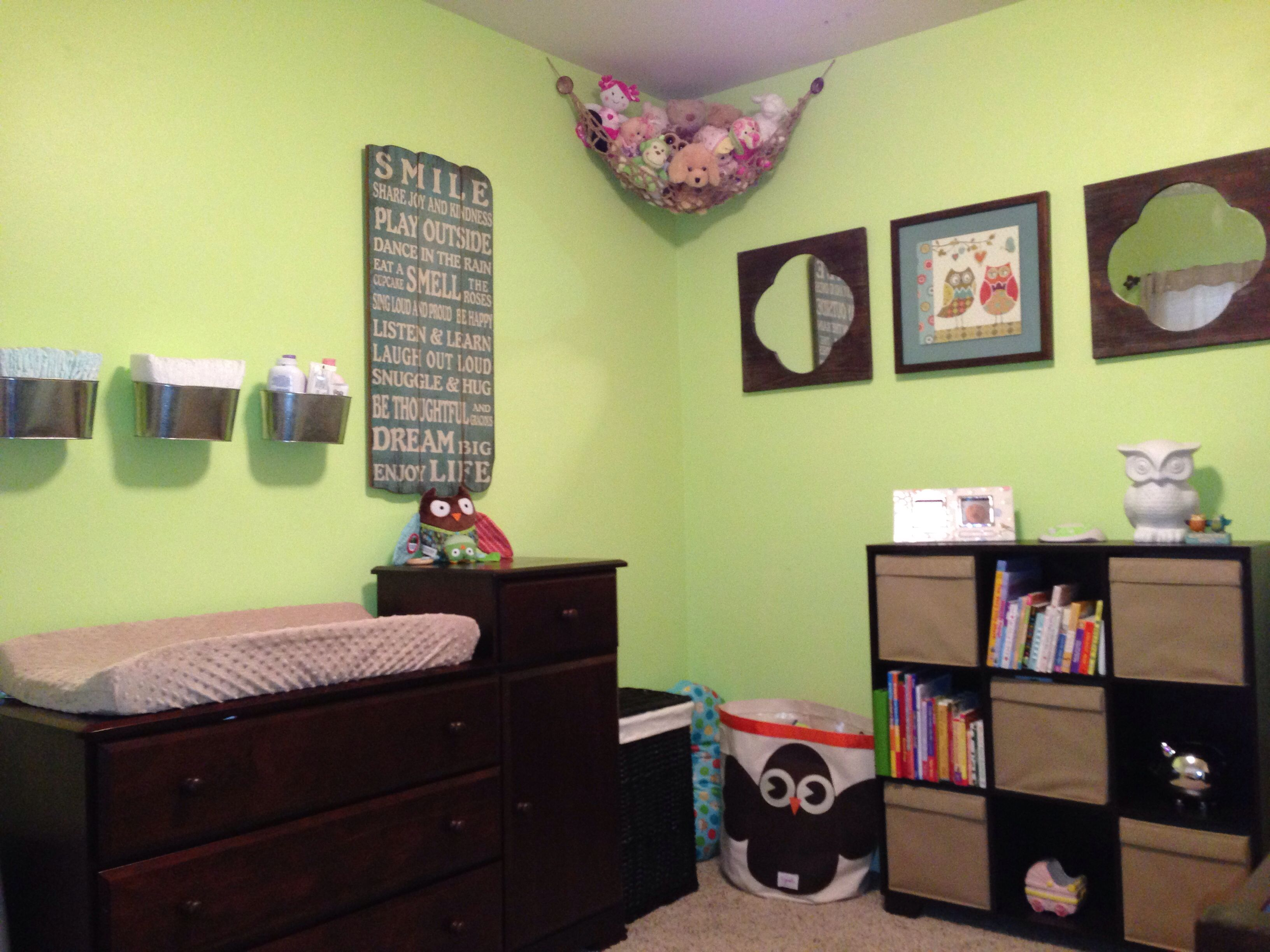 Gender Neutral Nursery Paint Color 39 Honeydew 39 With Owl