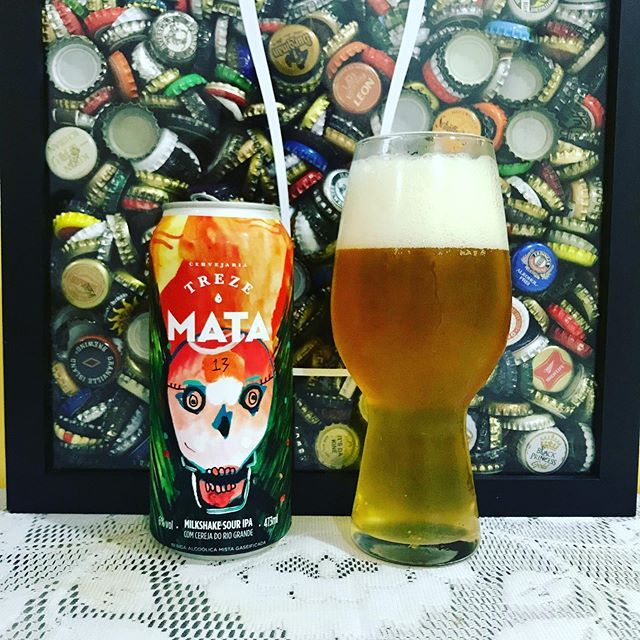 Treze Mata 6,0%. #treze #mata #trezemata #milkshakesouripa #milkshakeipa #souripa #indiapaleale #ipa #paleale #ale #cerveja #beer #bier #cerveza #birra #bière #pivo #piwo #øl #ōl #olut #cervejaartesanal #craftbeer #cervezaartesanal #birraartigianale @confrariabeermoon  (Feed generated with FetchRSS )