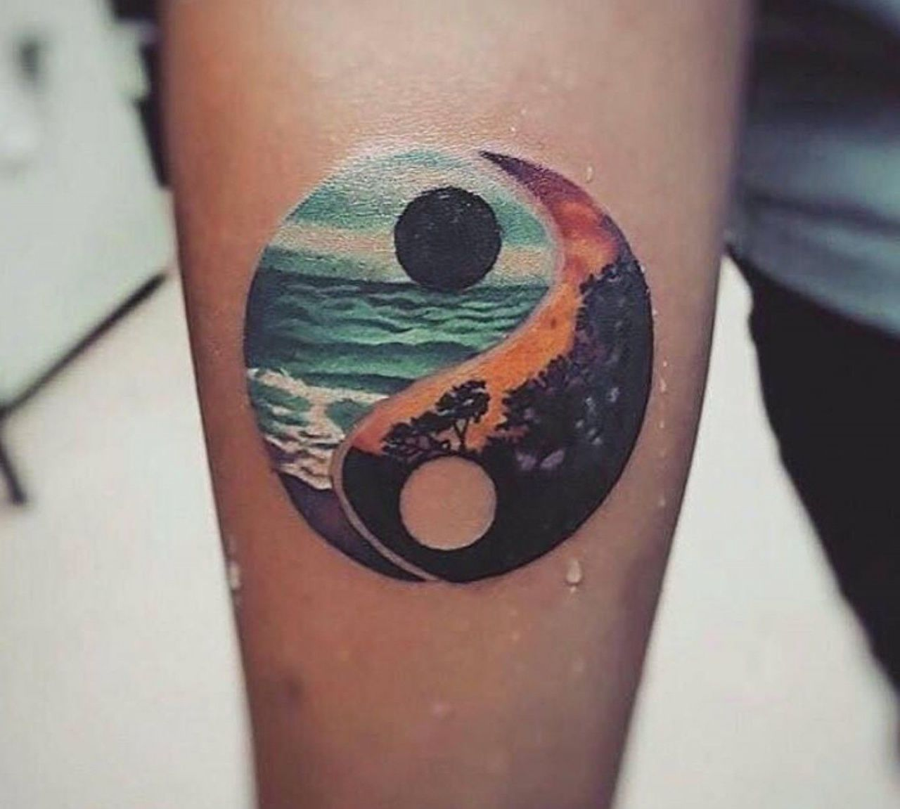 Pen Tattoos Ying Yang On Hand Easy For Kids In 2020 Tattoos Tattoos For Women Meaningful Tattoos For Men