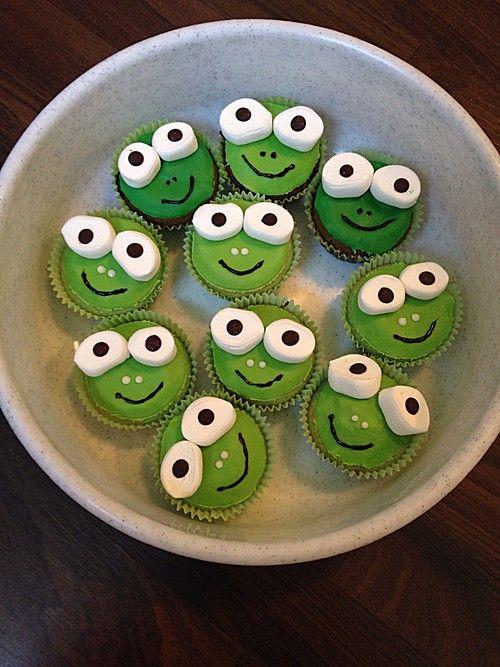 Frosch Muffins Kuchen Pinterest