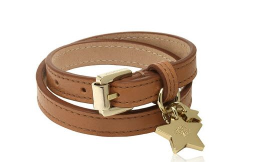 Mulberry I Double Wrap Star Charm Bracelet
