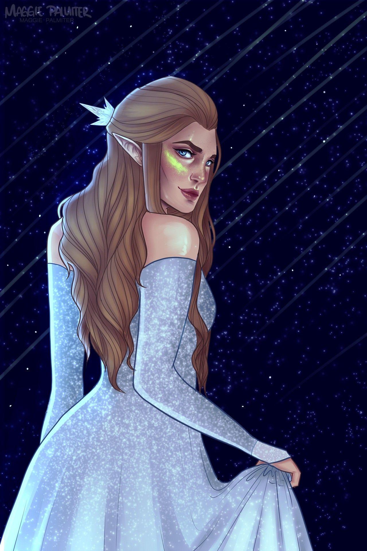 Feyre Starsfall Night Acomaf Sarah J Maas Books Sarah J Maas A